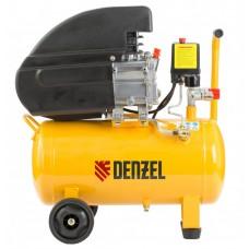 Компрессор масляный PC 1/24-206, коаксиальный, производительность 206 л/м, мощность 1,5 кВт. DENZEL