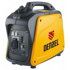 Генератор инверторный GT-1300i, X-Pro 1,3 кВт, 220 В, бак 3 л, ручной старт DENZEL