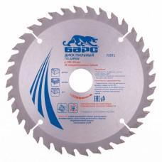 Пильный диск по дереву 190 x 30 мм, 36 твердосплавных зуба. БАРС