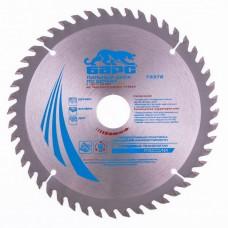 Пильный диск по дереву 190 x 30 мм, 48 твердосплавных зубъев. БАРС