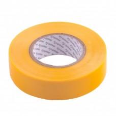 Изолента ПВХ, 19 мм х 20 м, желтая, 150 мкм. Matrix