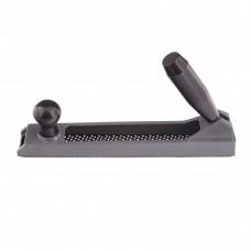 Рубанок, 250 х 42 мм, обдирочный, металлический, для гипсокартона, переставная ручка. MATRIX